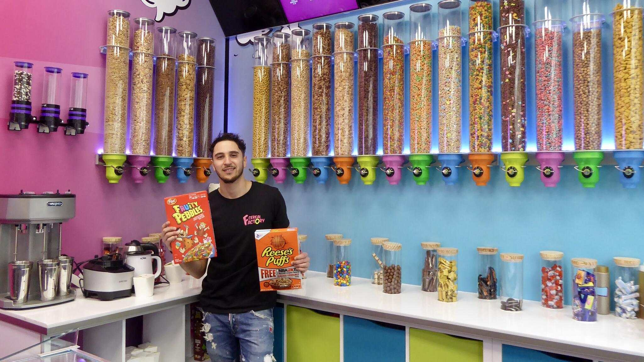 CEREAL FACTORY BAR A CEREALES GENEVE