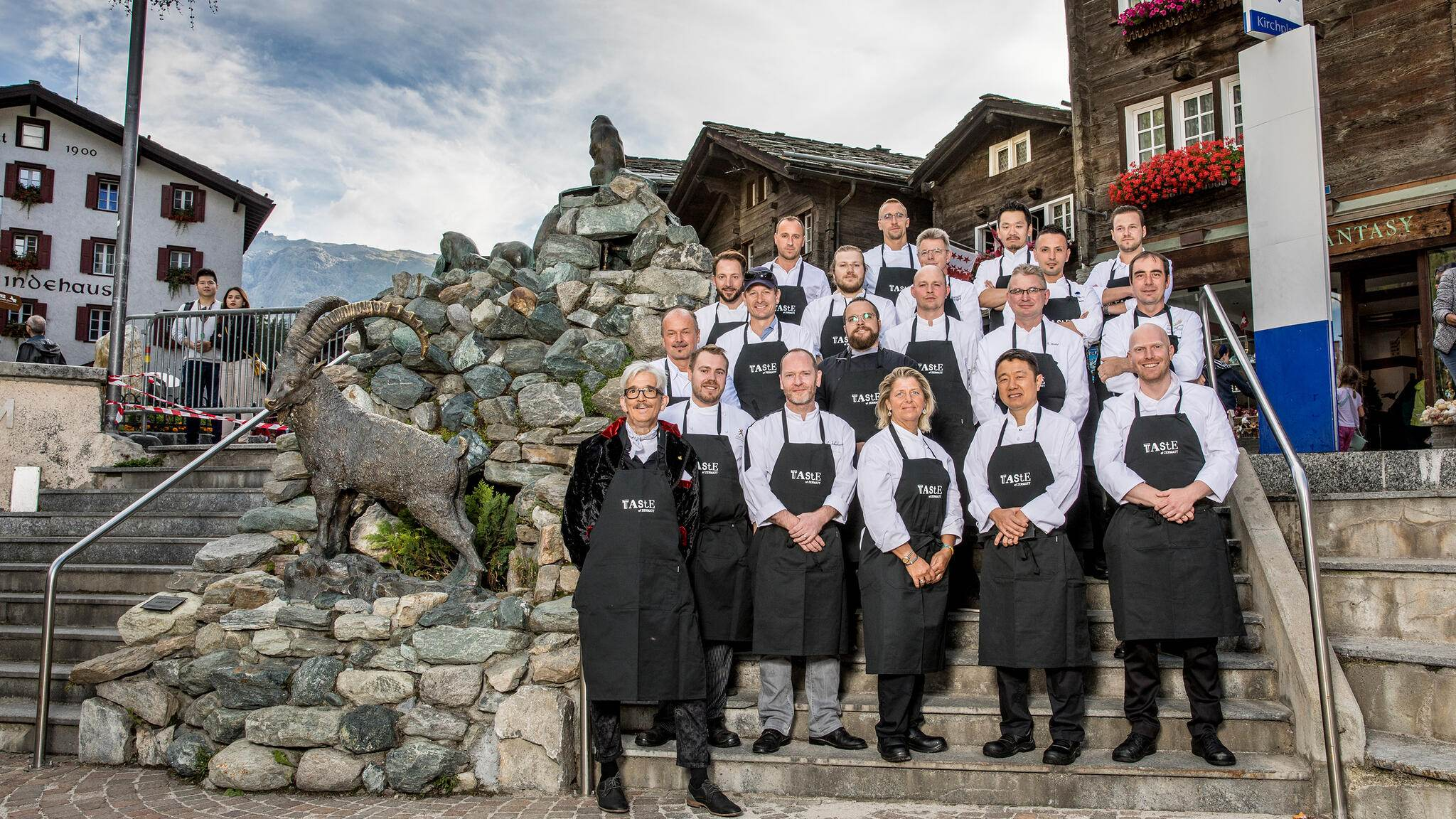 Kitchen Party Zermatt