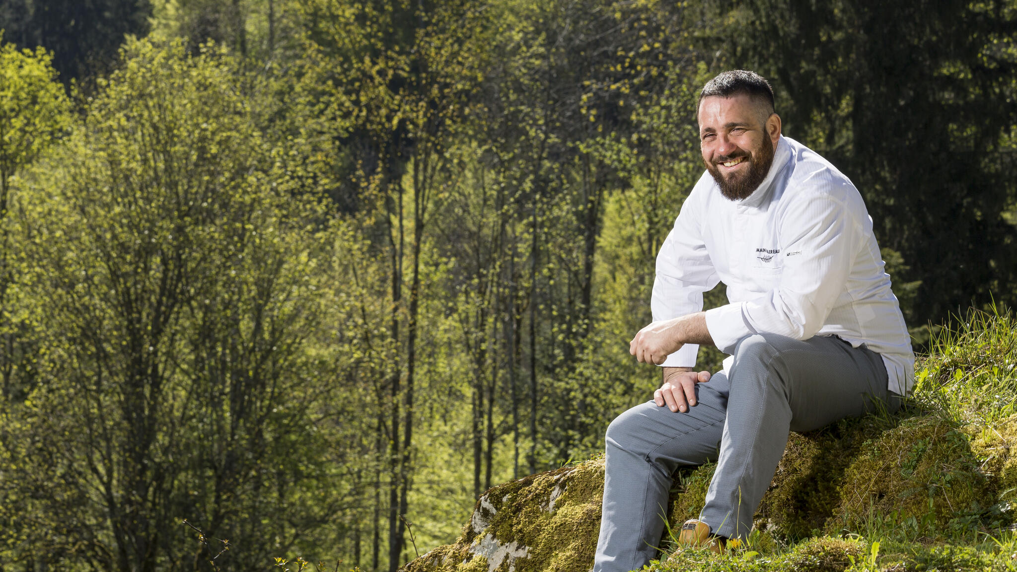 Le chef, Romain Paillereau
