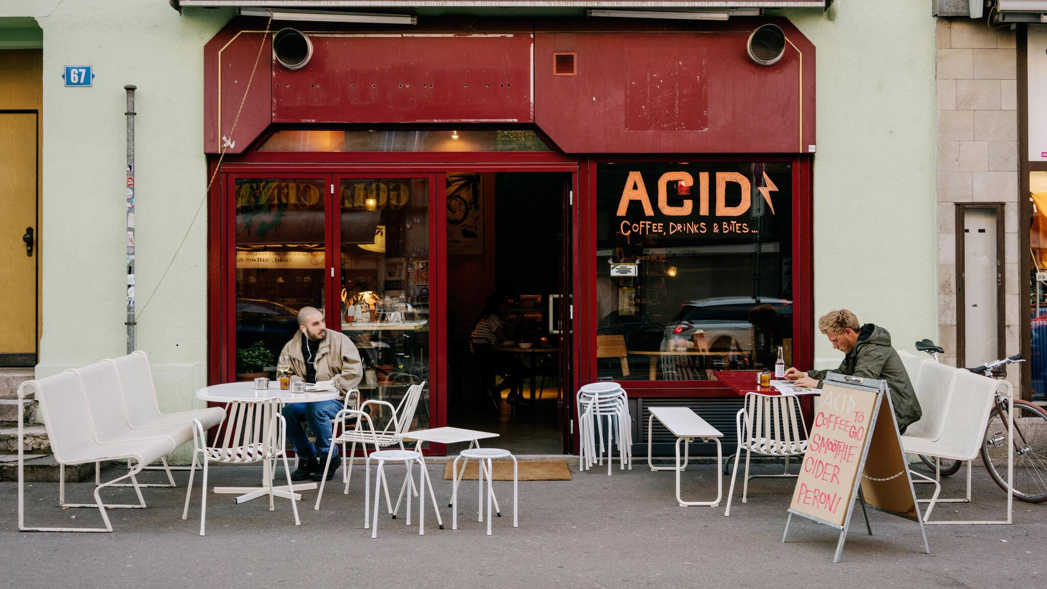 Café Bar ACID an der Langstrasse Zürich