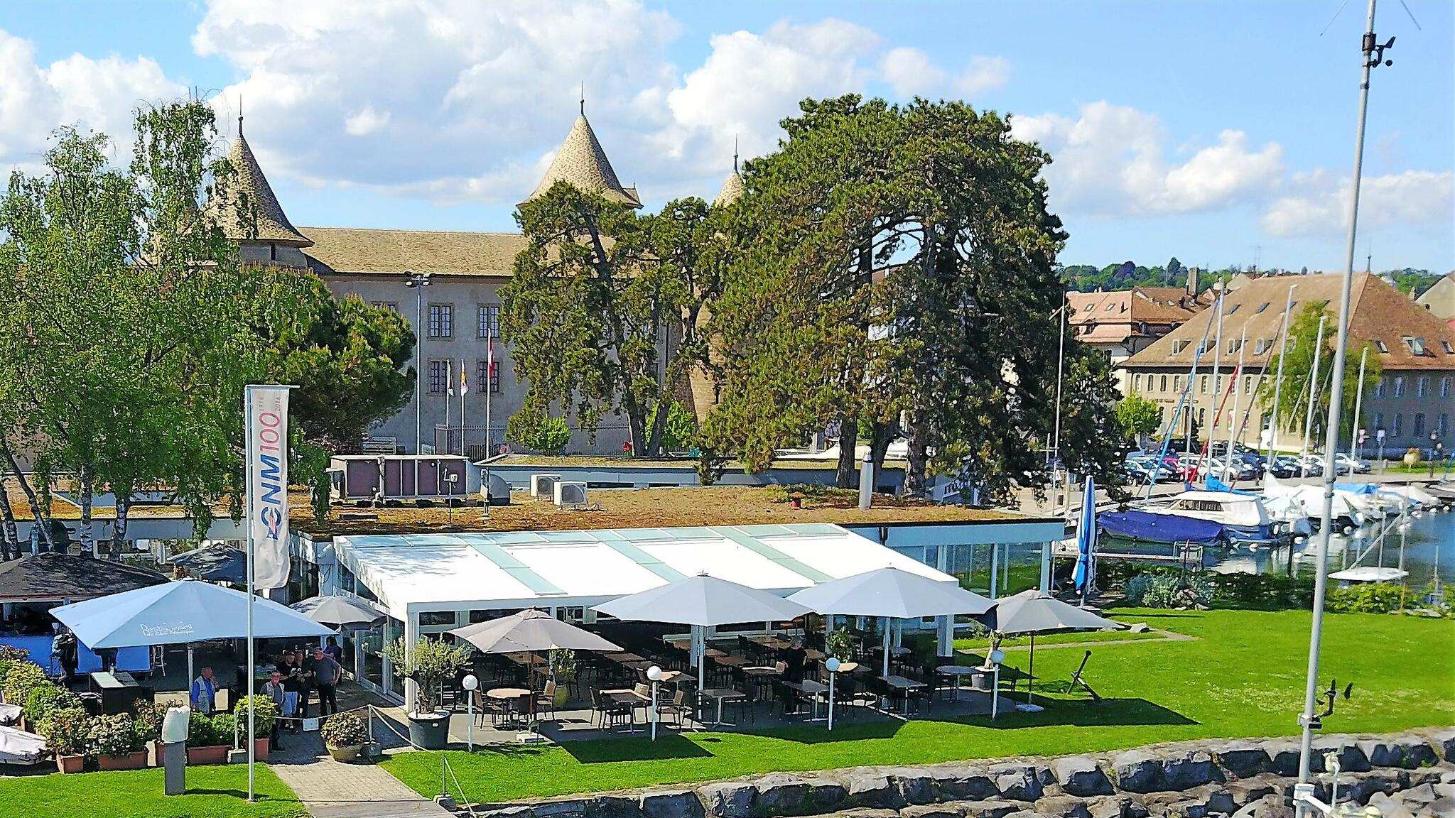 Aussenansicht vom Restaurant du Club Nautique in Morges - GaultMillau