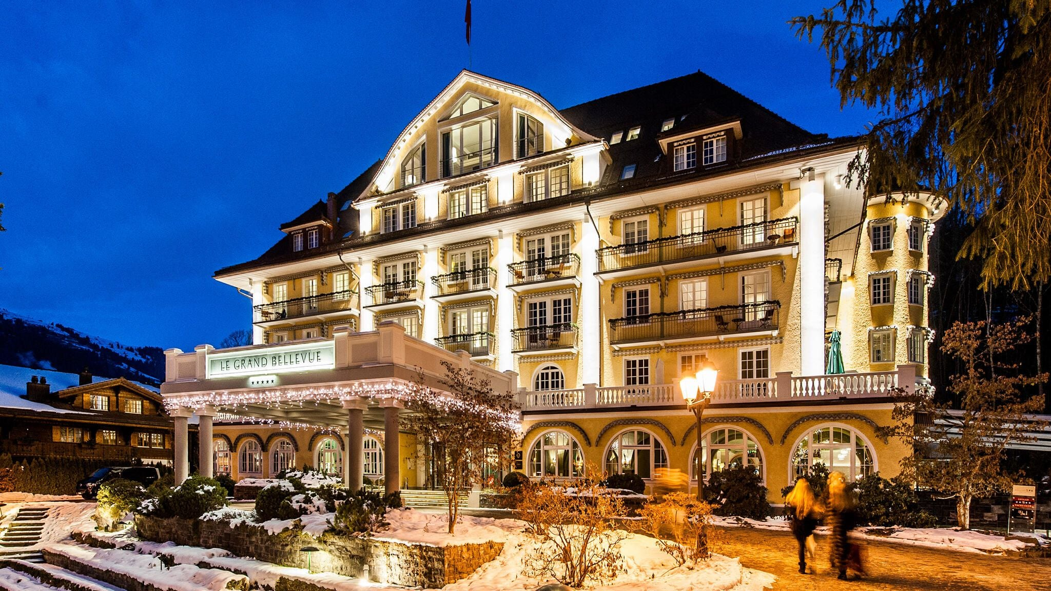 Le Grand Bellevue Gstaad GaultMillau Channel