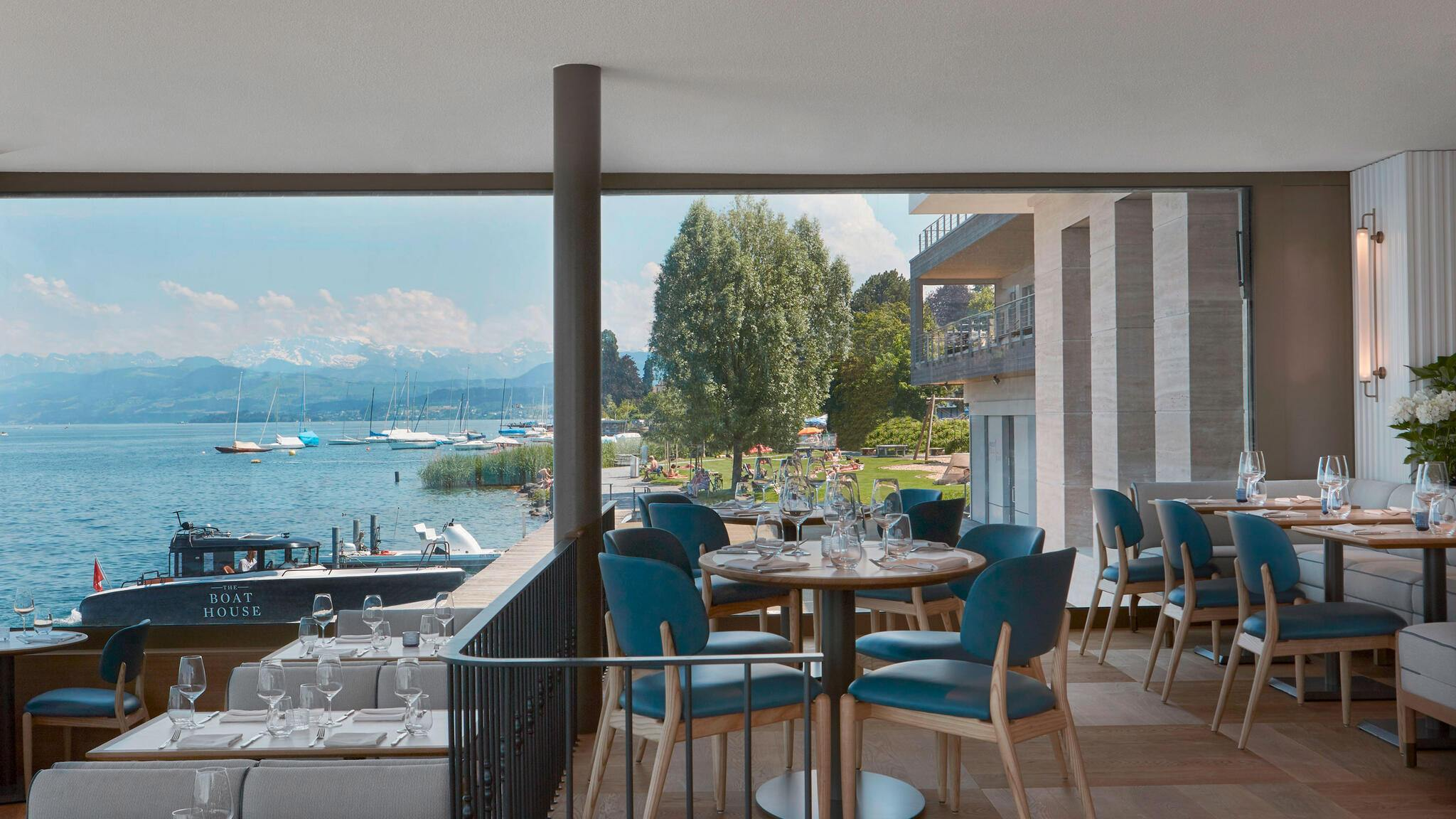 Thalwil boathouse