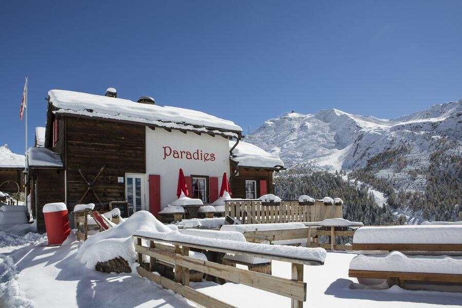 Paradies Zermatt Wallis