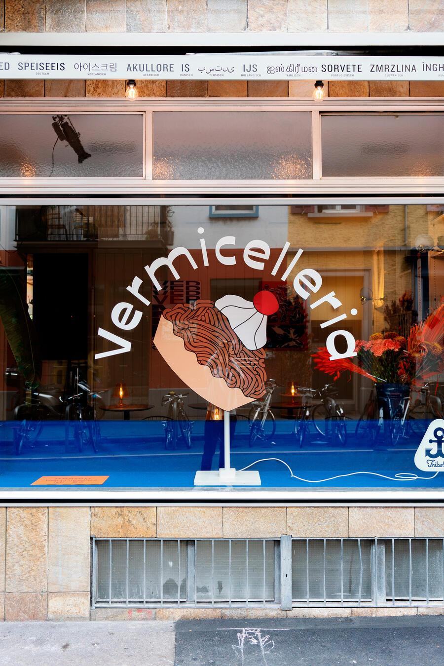 Pop-up Vermicelleria in Zürich in der Gelati Tellhof