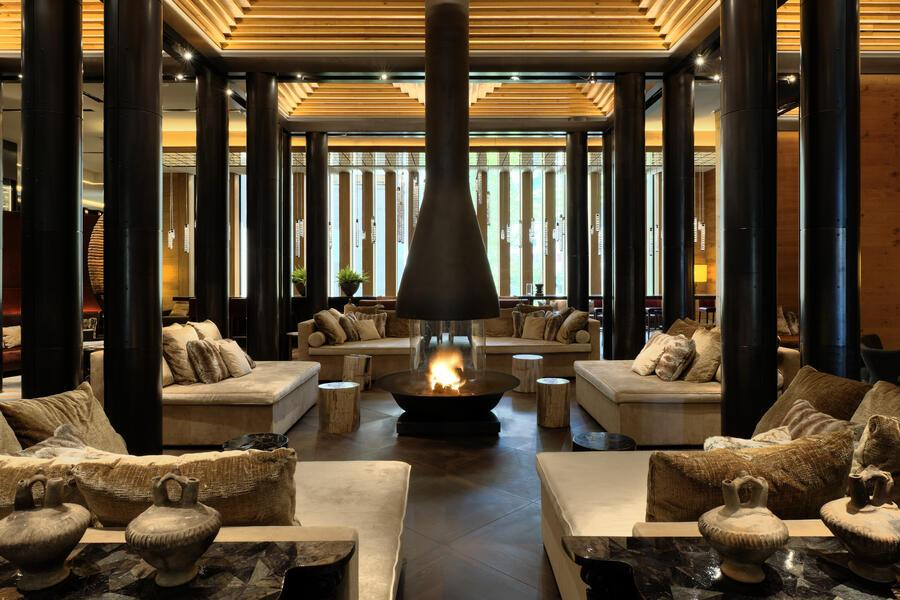 The Chedi Andermatt Sawiris Day Spa Gaultmillau Channel
