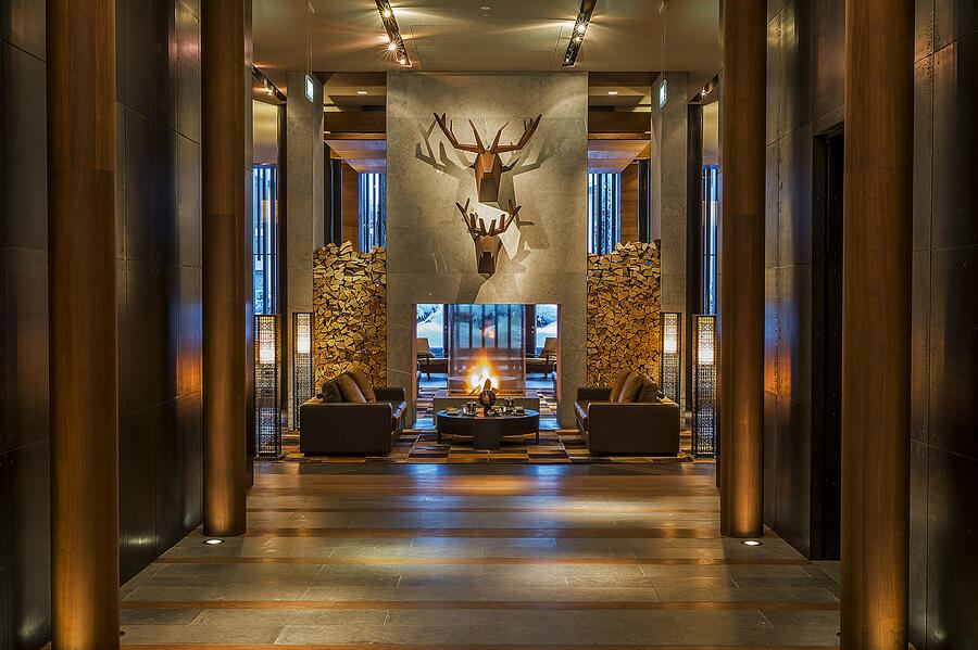 The Chedi Andermatt Eingang
