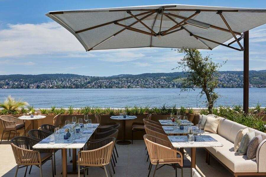 Alex Lake Zürich Terrasse