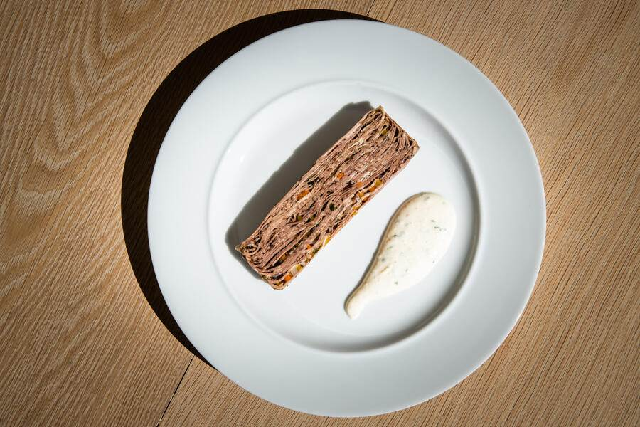 Beat Stofer, Restaurant Balm, Meggen 2020: Terrine