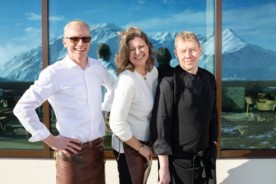 Bergrestaurant andermatt guetsch
