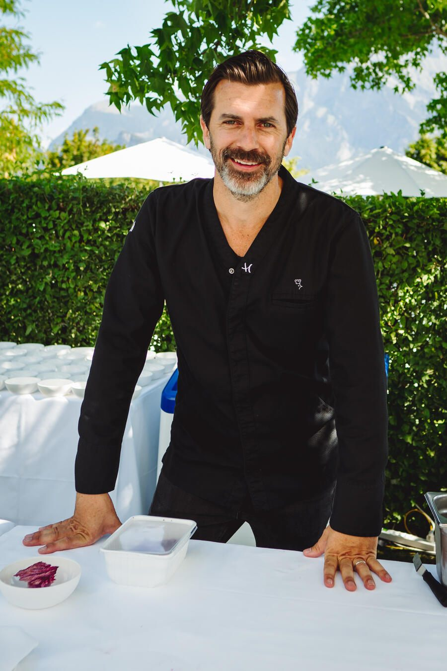 Andreas Caminada, Schloss Schauenstein - Gault&Millau Garden Party - 19. August 2018 - Bad Ragaz - Copyright Olivia Pulver