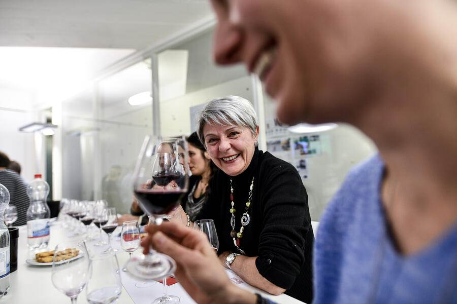 11.02.2019 Lausanne / L'illustre Gault Millau degustation de vins rouges vaudois. Photos L'illustre 2019