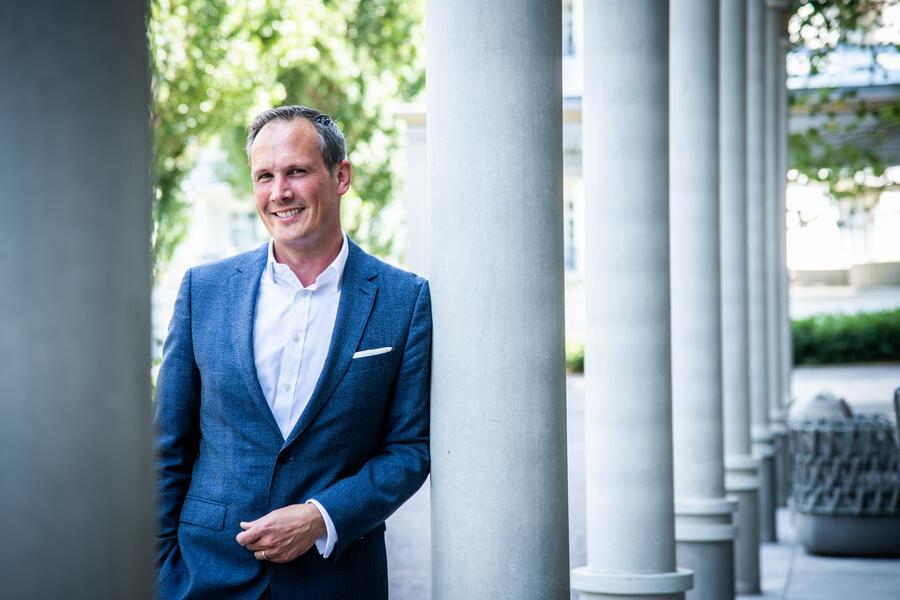 Hotel Grand Resort Bad Ragaz 2020: General Manager Marco Zanolari