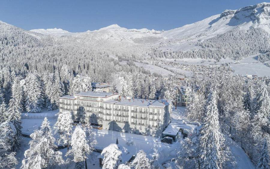 Waldhaus Flims Alpine Grand Hotel & Spa Flims, 4.12.2017 HO via Waldhaus