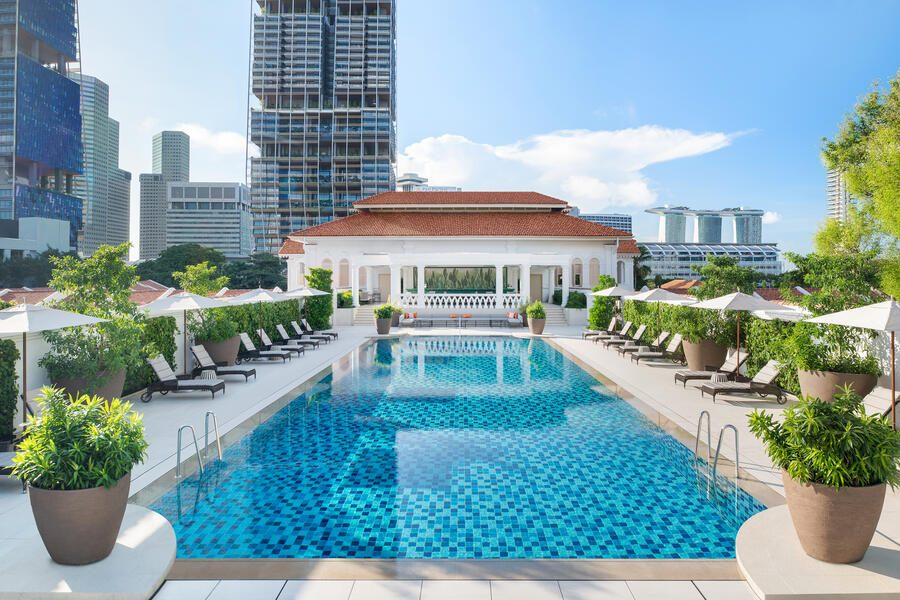 Raffles Swimmingpool