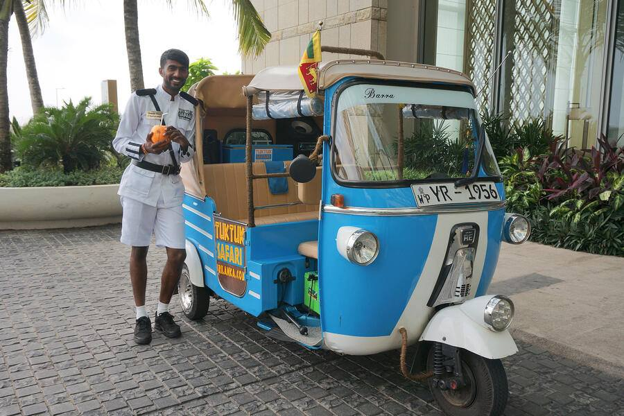 Tuk Tuk in Colombo