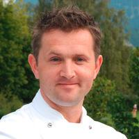 Robert Hubmann Kuechenchef vom Hotel Grand Resort Bad Ragaz Restaurant Gladys in Bad Ragaz - GaultMillau