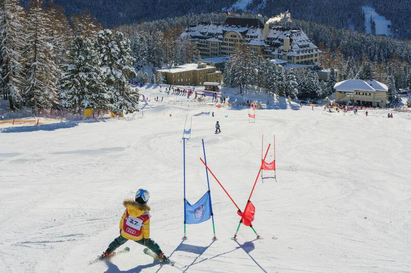 Suvretta House St. Moritz Ski in Ski out