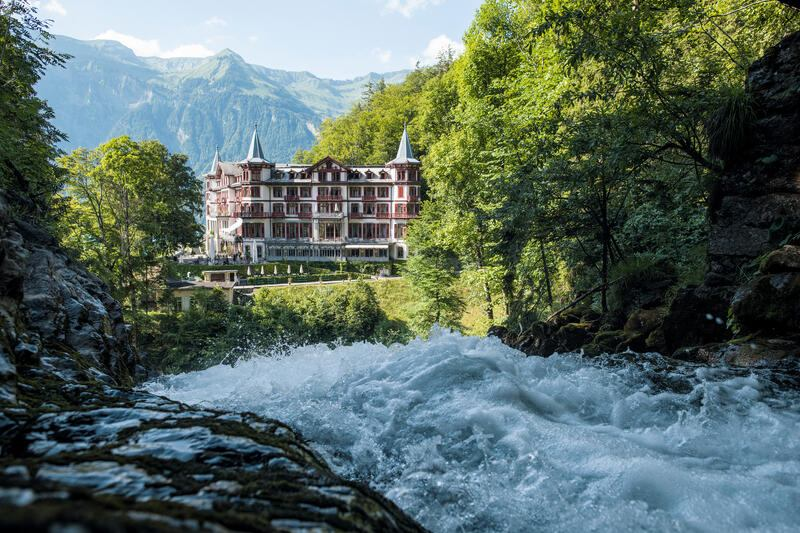 Brienz Giessbach Swiss Historic Hotels