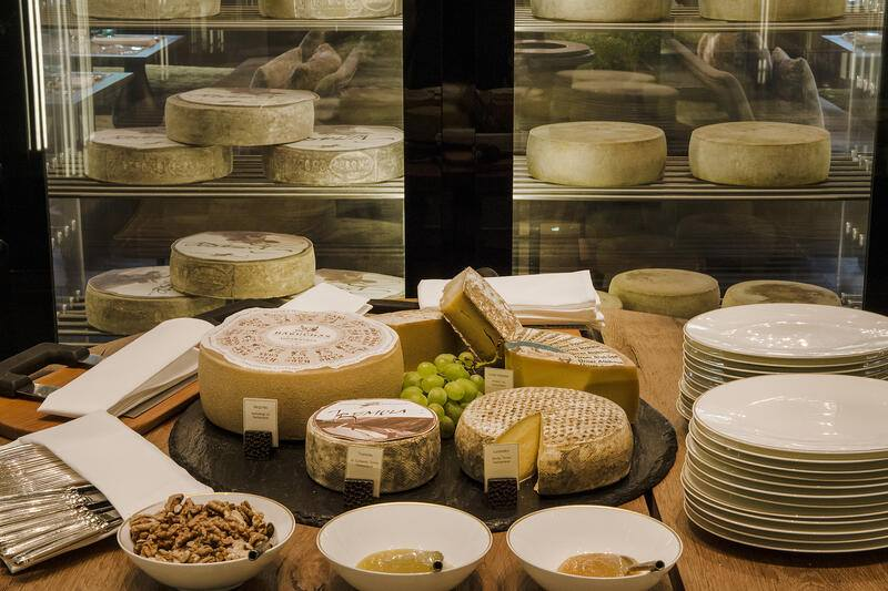 Dining-The Restaurant-Wine Cheese Cellar-Cheese Selection
