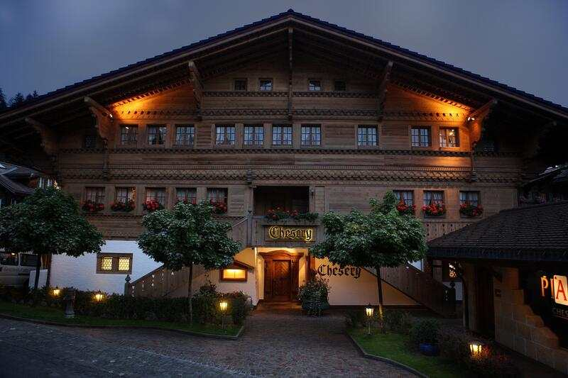 Hotel Chesery in Gstaad