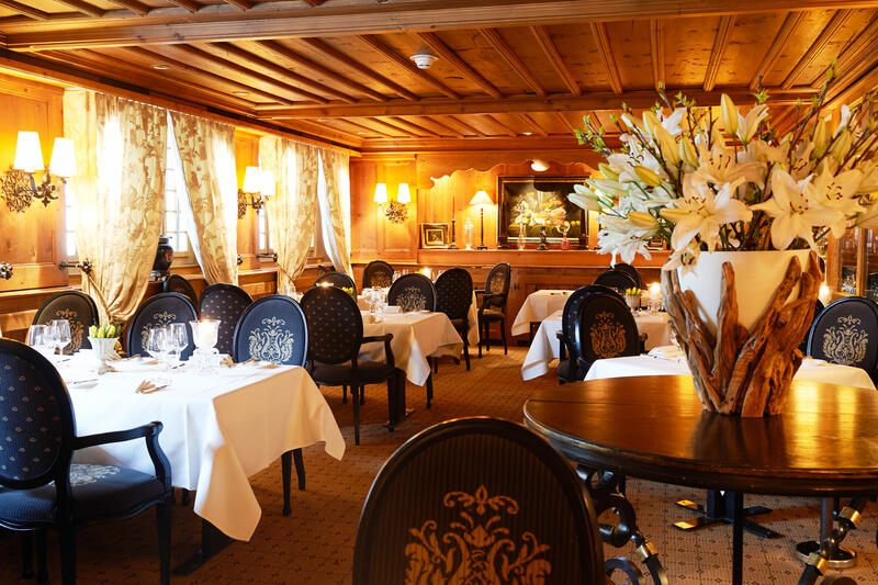 Gstaad Palace, Le Grill