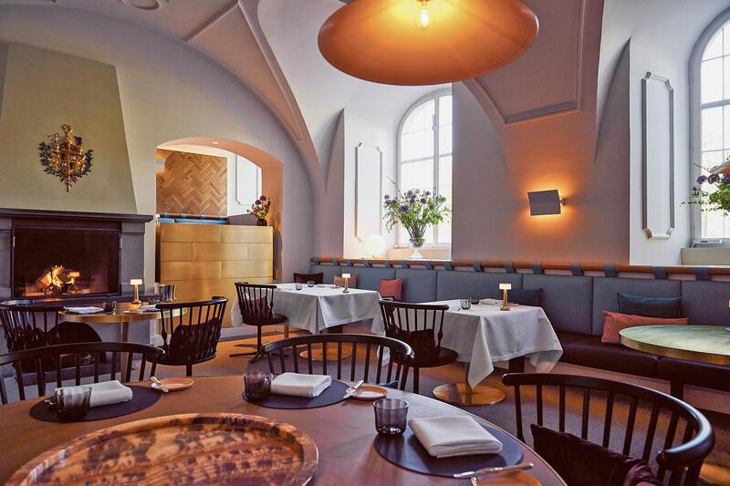Grand Resort Bad Ragaz, Restaurant Igniv