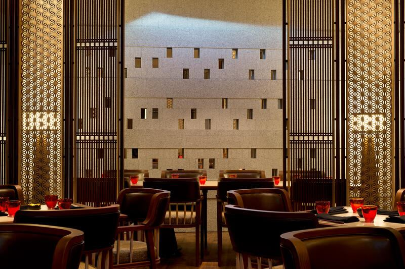 The Chedi Andermatt, The Japanese Restaurant
