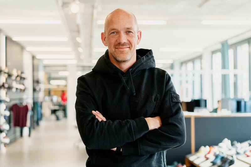 David Allemann in seinem Büro in Zürich-West: Mitgründer des Zürcher Start-ups On