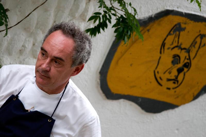 GIRONA, SPAIN - JULY 30:  Chef Ferran Adria gives a press conference on the last day for restaurant El Bulli before closing its door on July 30, 2011 in Girona, Spain. After repeatedly being recognised as the world's best restaurant, El Bulli will close on July 30, before re-opening in 2014 as a research center for new culinary ideas and techniques.  (Photo by Robert Marquardt/Getty Images)