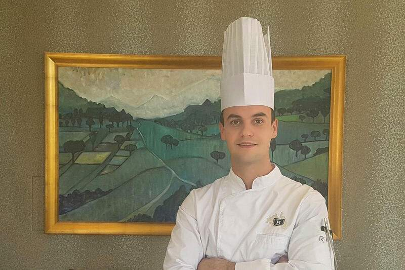 Chef Maxime Pale Royal Savoy