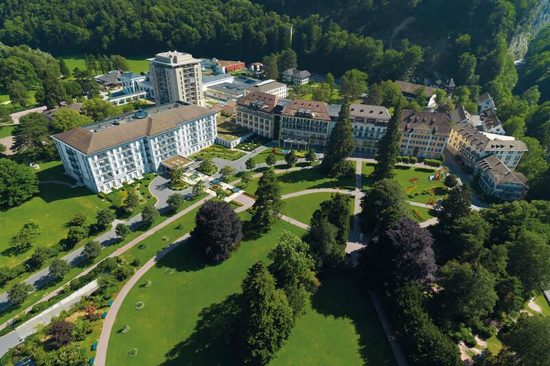 Grand Resort Bad Ragaz Aussenansicht