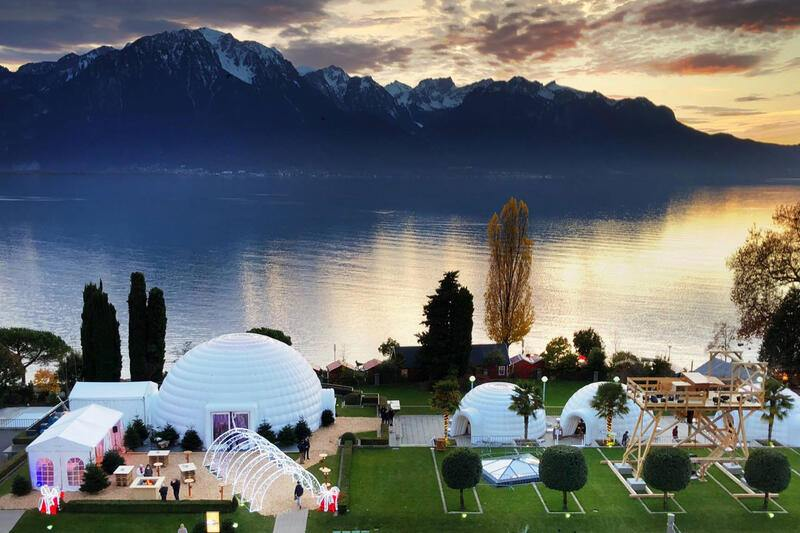 Montreux-Palace igloo
