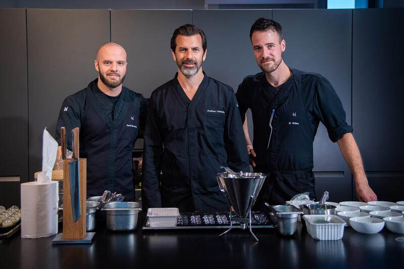 HUBLOT Art Of Fusion Night with Andreas Caminada, Yannick Alleno 2019
