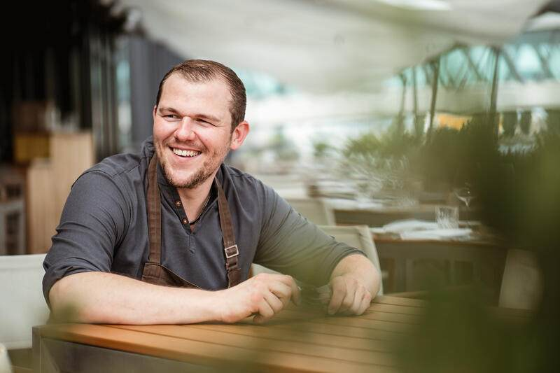 Küchenchef Pascal Steffen, Restaurant Roots, Basel - 8. August 2018 - Copyright Olivia Pulver