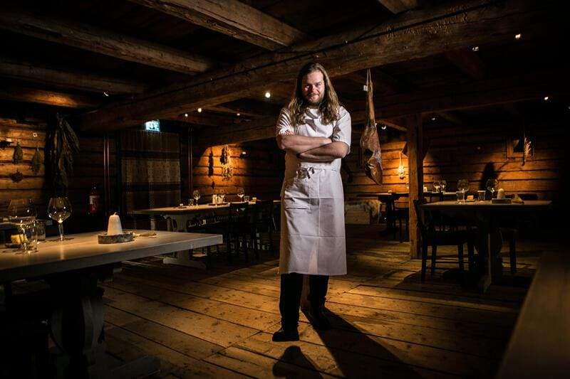 Portrait of Magnus Nilsson (Chef) (restaurant Faviken) 14/01/2016 ??Julien FAURE/Leemage