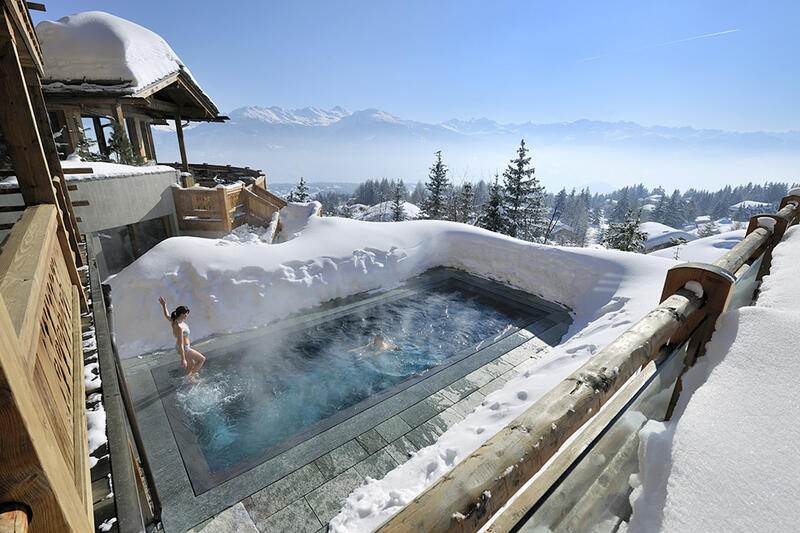 Le Crans Hotel und Spa Crans Montana Ski in Ski out