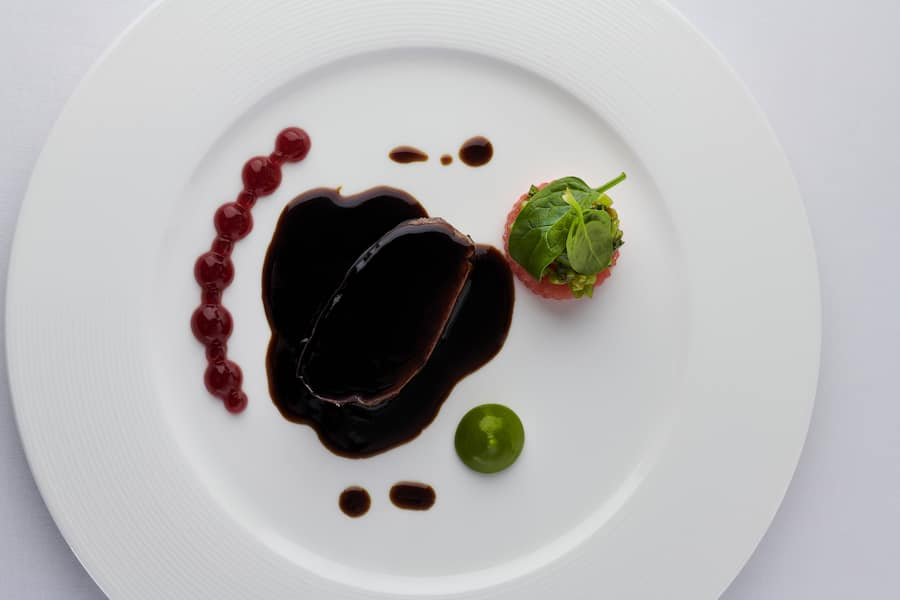 Hauptgang7. Excellence Gourmetfestival 2019 auf Excellence CountesseVon Basel nach Strassburg mit Tim Raue. 21.11-22.11.2019